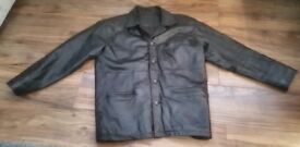 Brand New Medium/Large 100% Real Leather Jacket. Only £39!