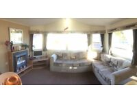 STATIC CARAVAN FOR SALE FULLY EQUIPPED AND SITED ON CHERRY TREE NR GREAT YARMOUTH NORFOLK / SUFFOLK