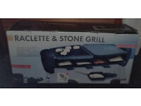 Raclette & Stone Grill in great working order and very good heat!