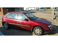 Low mileage 2001 Rover 25