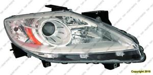 Head Light Passenger Side Halogen High Quality Mazda CX-9 2010-2012