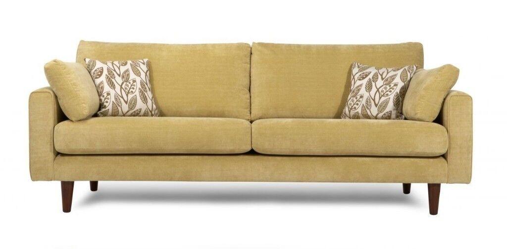 Dfs Bardot 3 Piece Sofa Set Light Green 300 In Greenford London