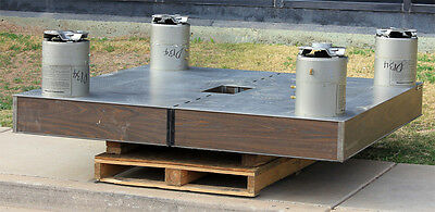 Newport Research Anti-vibration Isolation Optics Bench Table With 4 Xl-a Legs