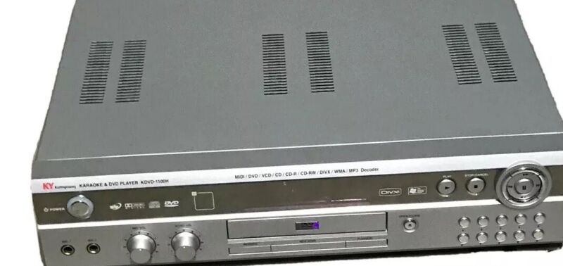 Kumyoung KDVD-1100H Karaoke & DVD Player KPOP Sing MUSIC K POP KY Korean Remote