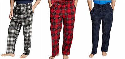 Nautica Sueded Fleece Pajama Pants Men's Size M, L, XL, XXL New