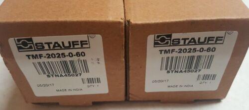 (2) Quantity of STAUFF Suction Strainer TMF-2025-0-60, STNA45027