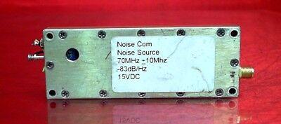 Noisecom 13886 Noise Source 70 Mhz -83dbhz 15vdc