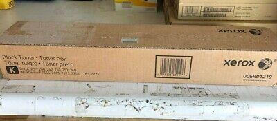Genuine Xerox Oem Docucolor 240 250 252 260 Black Toner Cartridge New Sealed