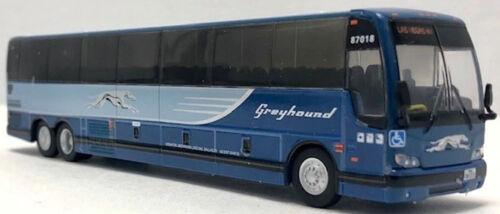 Greyhound Diecast Bus Prevost X3-45 1:87 Scale New Release Iconic Replica NIB!