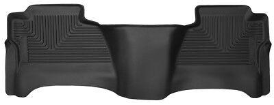 Husky Liners 53211 X-Act Contour Rear Floor Mat Black 14-18 Silverado / Sierra