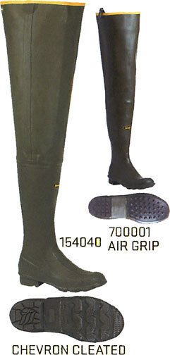 Lacrosse Big Chief Hip Boots, Insulated and Non Insulated,154040, 700001