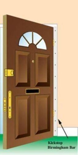 Birmingham Bar Security Door Anti Kick Frame Steel