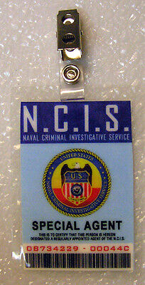 NCIS TV Series ID Badge-Special Agent costume prop cosplay - Special Agent Costume