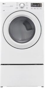 LG Gas Dryer with Pedestal for sale