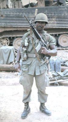Vietnam War U.S. Army 25th Infantry Locked Loaded Ready High Gloss 8.5x11 Photo