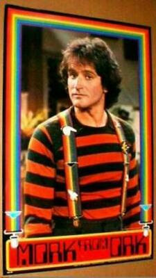 MORK FROM ORK MORK & MINDY ROBIN WILLIAMS 1979 RED POSTER #2