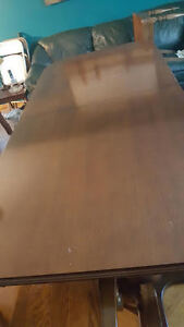 Wodden Dinning Room Table and 8 Chairs Kitchener / Waterloo Kitchener Area image 4