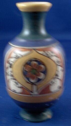 Antique 20thC Small Dutch Arnheim Faience Vase Fayence Netherlands Holland