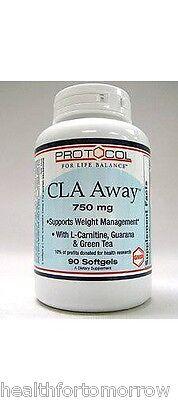 Protocol For Life Balance CLA Away 750 mg 90 gels