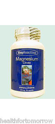 Allergy Research Group Magnesium Citrate 170 mg 90 caps Allergy Research Group Magnesium