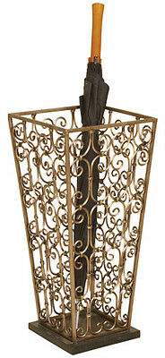 Used, 2148 - Metal Scrolled Umbrella Stand for sale  Roanoke