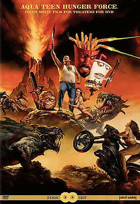 Aqua Teen Hunger Force Colon Movie Film For Theatres   Dvd  New Sold As Is