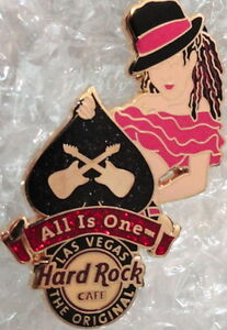 Hard-Rock-Cafe-LAS-VEGAS-2012-Sexy-SPADE-GIRL-PIN-HRC-65917-Mint-New-in-HRC-Bag