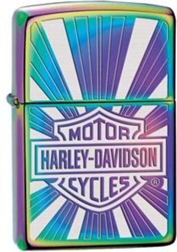 Zippo Harley Davidson Shield Spectrum Windproof Lighter 28815