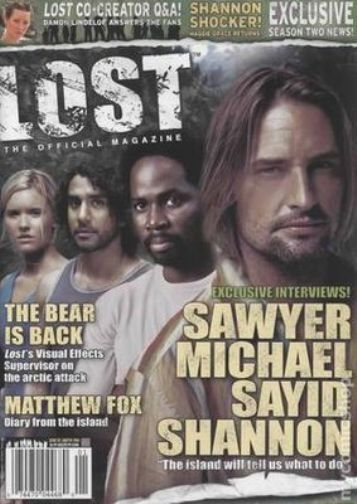 LOST OFFICIAL MAGAZINE - CAST COVER COLLECTOR ISSUE #2A - MAGGIE GRACE - FOX