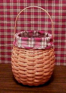 LONGABERGER 2000 OCTOBER FIELDS BASKET SET - NEW