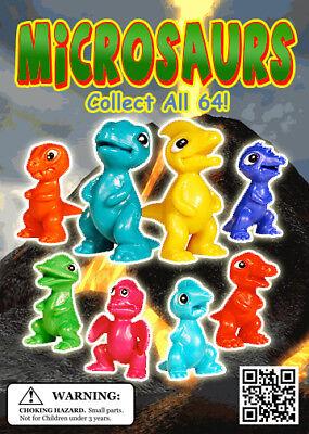 Vending Machine 0.250.50 Capsule Toys - Microsaurs