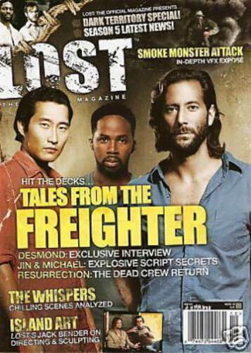 LOST OFFICAL MAGAZINE - TALES FROM THE FREIGHTER CAST COVER #19A THE WHISPERS