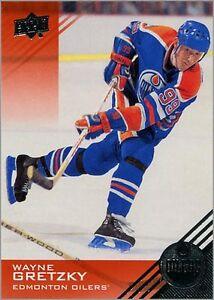 2013-14 UD EDMONTON OILERS COMPLETE SET (#1-90) Gretzky! Messier