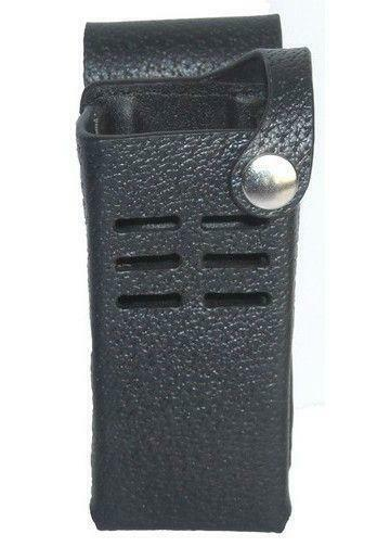 Leather Carry Case Holster for Motorola MOTOTRBO XPR 7350e Two Way Radio