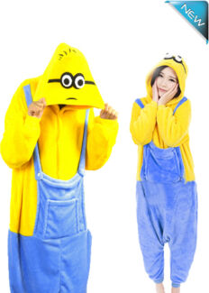 Minion Onesie despicable me Costume Cosplay party Pajama HQ