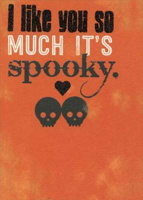 Recycled Paper Greetings Like You Spooky Funny Halloween Card - Spooky Halloween Greetings