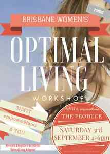 Optimal Living Workshop Ashgrove Brisbane North West Preview