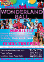 Calgary's 3rd Annual Children's Wonderland Ball- MARCH 11, 2018