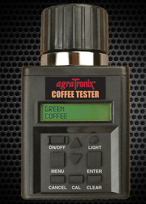 Agratronix Coffee Tester Moisture Tester Green Coffee Parchment 08150