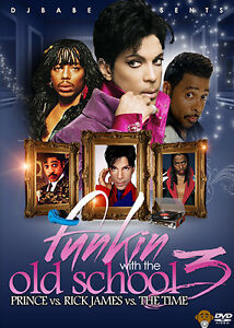 Funkin-With-The-Old-School-VOL-3-Music-Video-DVD-Prince-Rick-James-The-Time
