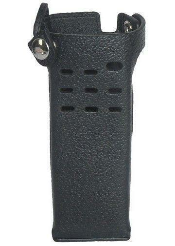 Leather Carry Case Holster for Motorola APX 7000 Short Battery Two Way Radio