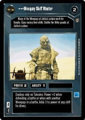 Star Wars CCG Jabba/'s Palace Someone Who Loves You NrMint-MINT SWCCG