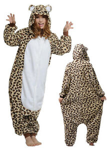 Leopard Onesie NEW Unisex Pajama Party Wear North Melbourne Melbourne City Preview