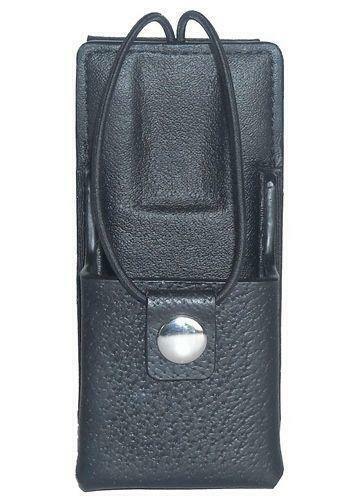 Leather Carry Case Holster for Motorola MOTOTRBO XPR 6550 Two Way Radio