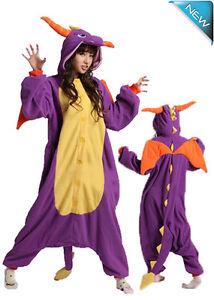 Onesie Spyro Dragon Dinosaur Purple Animal Onesies Pajama Adelaide CBD Adelaide City Preview