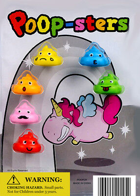 250 Vending Machine 1.1 Inches Small Capsule Toys - Poop-sters