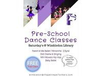 Pre School Dance and Drama classes