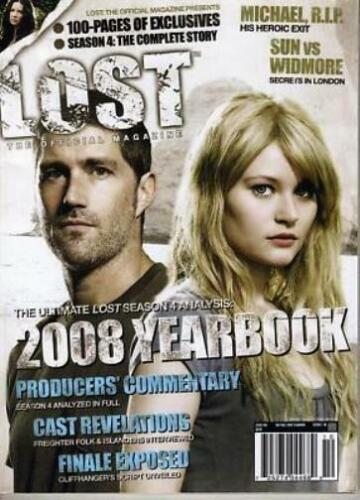 LOST OFFICAL MAGAZINE - LIMITED EDITION 2008 YEARBOOK #18A 100 PAGE EXCLUSIVES