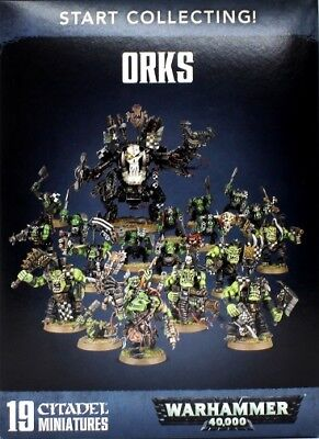 Games Workshop W40K START COLLECTING ORKS