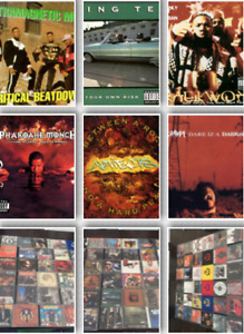 Rare Ol' School Rap and Hip Hop CD's . Selection. Some Promo's